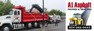 asphalt milling and paving commercial RVA Richmond, VA