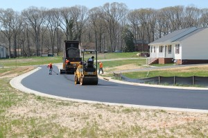Richmond VA Asphalt Roadway Installation