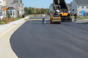 Condominium Parking Lot Paving